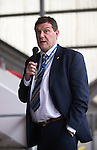 St Johnstone FC Player of the Year Awards...18.05.14<br /> Manager Tommy Wright speaks<br /> Picture by Graeme Hart.<br /> Copyright Perthshire Picture Agency<br /> Tel: 01738 623350  Mobile: 07990 594431