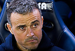 Coach Luis Enrique Martinez Garcia of FC Barcelona is seen prior to the La Liga match between Villarreal and FC Barcelona at the Estadio de la Cerámica on 08 January 2017 in Villarreal, Spain. Photo by Maria Jose Segovia Carmona / Power Sport Images