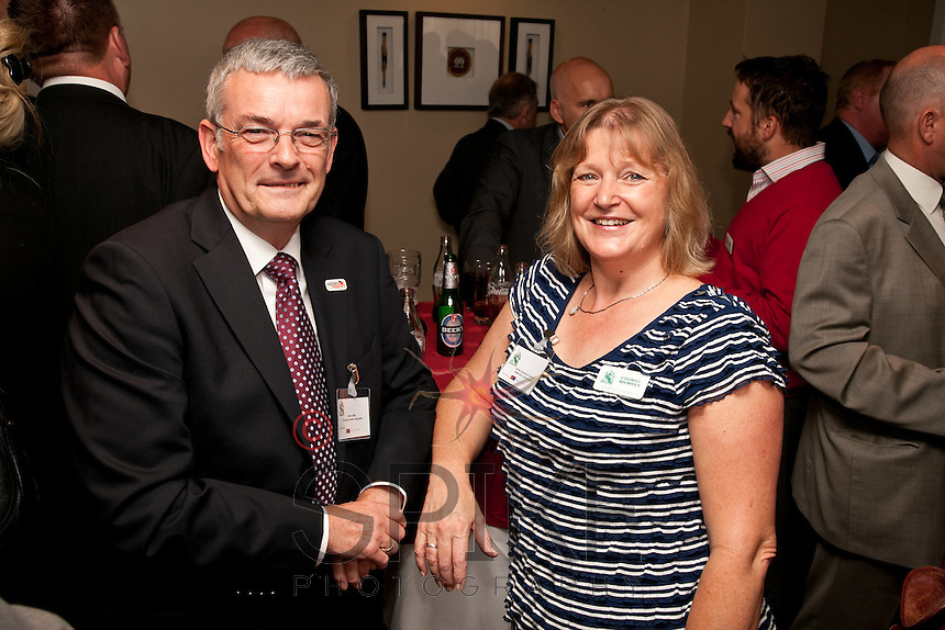 Mike Butler of Thompson Butler Associates is pictured with Rosie Garwood of Reflection Consulting.