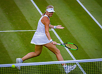 London, England, 4 th. July, 2018, Tennis,  Wimbledon, Womans singles second round, Kiki Bertens (NED)<br /> Photo: Henk Koster/tennisimages.com