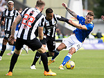 St Mirren v St Johnstone…29.08.21  SMiSA Stadium    SPFL<br />Callum Hendry and Charles Dunne<br />Picture by Graeme Hart.<br />Copyright Perthshire Picture Agency<br />Tel: 01738 623350  Mobile: 07990 594431