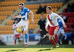 St Johnstone v Kilmarnock…25.02.17     SPFL    McDiarmid Park<br />Chris Kand and Scott Boyd<br />Picture by Graeme Hart.<br />Copyright Perthshire Picture Agency<br />Tel: 01738 623350  Mobile: 07990 594431