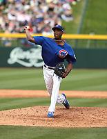 Carlos Ramirez - Chicago Cubs 2019 spring training (Bill Mitchell)