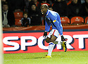 15/12/2009  Copyright  Pic : James Stewart.sct_jspa02_dundee_utd_v-rangers  .:: DAMARCUS BEASLEY CELEBRATES SCORING THE FIRST FOR RANGERS :: .James Stewart Photography 19 Carronlea Drive, Falkirk. FK2 8DN      Vat Reg No. 607 6932 25.Telephone      : +44 (0)1324 570291 .Mobile              : +44 (0)7721 416997.E-mail  :  jim@jspa.co.uk.If you require further information then contact Jim Stewart on any of the numbers above.........