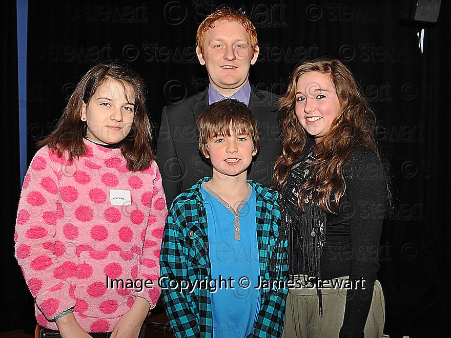 14/12/2010  Copyright  Pic : Lisa Ferguson / JSP.033_christmas_seminar_2010  .::  FALKIRK COUNCIL ::  LITTER STRATEGY :: CHRISTMAS SEMINAR 2010  ::  GDW KIDS & TEEN AWARDS :: HEATHER STIRLING, MARTIN BELL, ANNA BELL  ::.