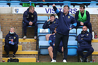 Oxford United Manager, Karl Robinson during Gillingham vs Oxford United, Sky Bet EFL League 1 Football at the MEMS Priestfield Stadium on 10th October 2020