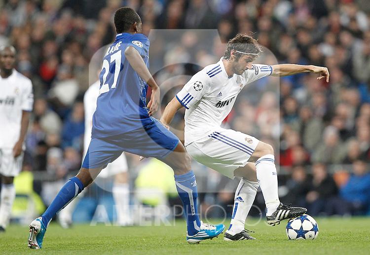 Real Madrid's Esteban Granero during Champions League match on december 8th 2010...Photo: Cesar Cebolla / ALFAQUI