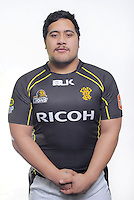 Eric Sione. Wellington Lions ITM Cup official headshots at Rugby League Park, Wellington, New Zealand onThursday, 1 August 2013. Photo: Dave Lintott / lintottphoto.co.nz