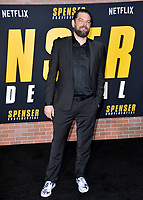 "LOS ANGELES, CA: 27, 2020: Kip Weeks at the world premiere of ""Spenser Confidential"" at the Regency Village Theatre.<br /> Picture: Paul Smith/Featureflash"