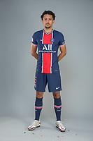 14th October 2020, Paris, France; Official League 1 player portrait for Paris Saint Germain;  MARQUINHOS