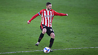 Henrik Dalsgaard of Brentford and Denmark in action during Brentford vs Wycombe Wanderers, Sky Bet EFL Championship Football at the Brentford Community Stadium on 30th January 2021