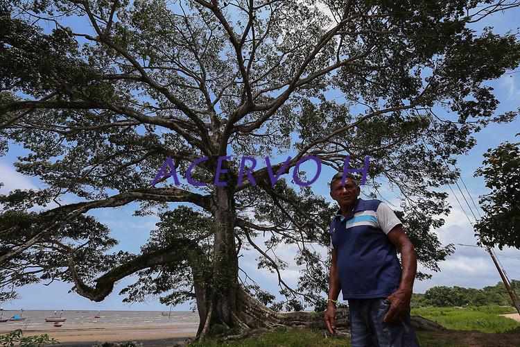 Rosil Aranha, pescador, amigo do Capitão Holanda e piloto do barco<br /> ©Wagner Santana