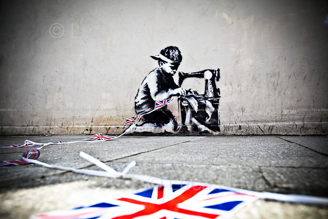 """""""Point of View"""", Banksy 2012.<br /> <br /> For more pictures on this event click here: <a href=""""http://bit.ly/PZEkiT""""> http://bit.ly/PZEkiT</a>"""
