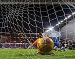 08.03.2019 Hibs v Rangers: Florian Kamberi beats Allan McGregor