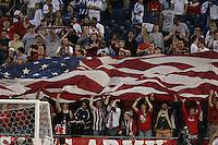 USA fans, Honduras v USA, 2004.