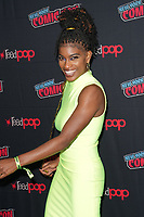 """NEW YORK CITY - OCTOBER 9: Ashley Romans attends a 2021 New York Comic Con event for FX's """"Y: The Last Man"""" at the Javits Center on October 9, 2021 in New York City.  (Photo by Ben Hider/FX//PictureGroup)"""