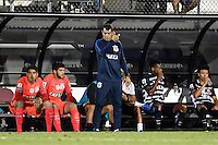 Orlando, FL - Saturday Jan. 21, 2017: Corinthians head coach Fábio Carille gives instruction during the second half of the Florida Cup Championship match between São Paulo and Corinthians at Bright House Networks Stadium. The game ended 0-0 in regulation with São Paulo defeating Corinthians 4-3 on penalty kicks