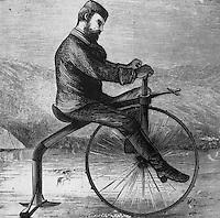 Ice Bike, 1880s Artist Unknown