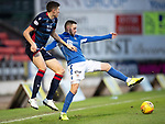 St Johnstone v Ross County…..29.12.19   McDiarmid Park   SPFL<br />Drey Wright and Harry Paton<br />Picture by Graeme Hart.<br />Copyright Perthshire Picture Agency<br />Tel: 01738 623350  Mobile: 07990 594431