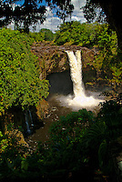 Aunuenue falls, commonly known as Rainbow falls, near Hilo on the Big island of Hawaii