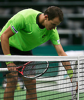 11-02-14, Netherlands,Rotterdam,Ahoy, ABNAMROWTT,Lukas Rosol(TSJ)<br /> Photo:Tennisimages/Henk Koster