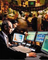 Stock exchange trading<br />