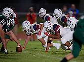 Manatee Hurricanes vs Lakewood Ranch Mustngs Varsity Football on October 2, 2020 in Bradenton, Florida.  (Mike Janes Photography)