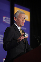 October 10, 2012 - Montreal. Quebec , Canada - Dominic Barton, Global managing director, McKinsey & Company speak at the CORIM about Competitiveness and Trade:<br /> Opportunities in a World in Transition