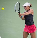 Yulia Putintseva (KAZ) loses to Christina McHale (USA) 6-2, 1-6, 7-5 at the Citi Open in Washington, DC,  on August 6, 2015.