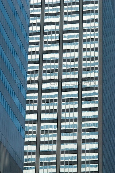 AVAILABLE FROM JEFF AS A FINE ART PRINT.<br /> <br /> AVAILABLE FROM PLAINPICTURE FOR COMMERCIAL AND EDITORIAL LICENSING. Please go to www.plainpicture.com and search for image # p5690169.<br /> <br /> Office Buildings in Midtown Manhattan, New York City, New York State, USA
