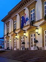 Rathaus auf Place Guillaume II, Luxemburg-City, Luxemburg, Europa, UNESCO-Weltkulturerbe<br /> Cityhall at Place Guillaume II, Luxembourg City, Europe, UNESCO Heritage Site