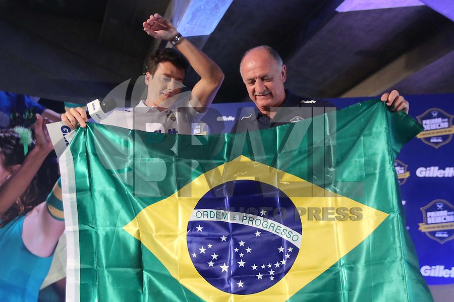 SAO PAULO, SP, 25.11.2013 - LUIZ FELIPE SCOLARI - Tecnico da Seleção Brasileira Luiz Felipe Scolari é nomeado embaixador da marca Gilette na manha desta  segunda-feira, no Estadio do Morumbi regiao sul da cidade de Sao Paulo. (Foto: Vanessa Carvalho / Brazil Photo PRess)>