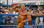 Muscle Beach in Venice, circa 1990s