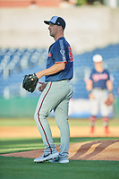 Nashville Sounds starting pitcher Taylor Guerrieri (16) during the game against the Reno Aces  at Greater Nevada Field on June 5, 2019 in Reno, Nevada. The Aces defeated the Sounds 3-2. (Stephen Smith/Four Seam Images)