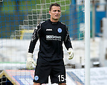 St Johnstone FC...Season 2012-13.Jonny Tuffey.Picture by Graeme Hart..Copyright Perthshire Picture Agency.Tel: 01738 623350  Mobile: 07990 594431