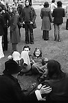 May 1st. May day morning Oxford University  Oxfordshire England 1976