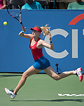 August 2,2017:  Eugenie Bouchard (CAN) defeated Christina McHale (USA) 7-6, 6-0, at the Citi Open being played at Rock Creek Park Tennis Center in Washington, DC, .  ©Leslie Billman/Tennisclix/CSM