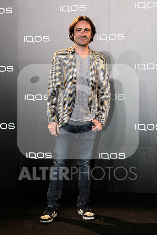 attends to IQOS3 presentation at Palacio de Cibeles in Madrid. February 10,2019. (ALTERPHOTOS/Alconada)