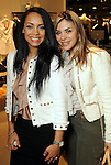 Hind Wahbi and Erika Sanchez at the Young at Heart party at the Guess by Marciano store at the Galleria  Wednesday March 24,2010. (Dave Rossman Photo)
