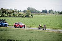 breakaway duo of the day: Sho Hatsuyama (JAP/Nippo-Vini Fantini) & Luca Covili (ITA/Bardiani - CSF)<br /> <br /> Stage 10: Ravenna to Modena (147km)<br /> 102nd Giro d'Italia 2019<br /> <br /> ©kramon