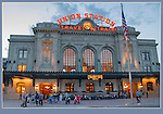 The newly renovated Union Station anchors one end of the 16th Street Mall.<br /> Denver photo tours by John Kieffer. Denver private tours.