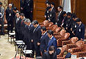 PM Abe Attends Budget Committee Meeting