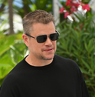 CANNES, FRANCE. July 9, 2021: Matt Damon at the Stillwater photocall at the 74th Festival de Cannes.<br /> Picture: Paul Smith / Featureflash