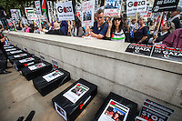 """23.08.2014 - """"Protest: UK Stop Arming Israel"""""""