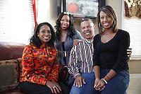 John Ewing and family