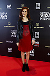 Carmela Lloret attends to 'Como la Vida Misma' film premiere during the 'Madrid Premiere Week' at Callao City Lights cinema in Madrid, Spain. November 12, 2018. (ALTERPHOTOS/A. Perez Meca)