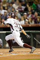 Raley, Brooks 4090.jpg. Houston Cougars vs Texas A&M Aggies in NCAA Baseball. Houston College Classic at Minute Maid Park on March 1st 2009 in Houston, Texas. Photo by Andrew Woolley.