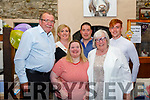 40th Birthday: Sarah Kelly, Ballybunion celebrating her 40th birthday with  family at The Thatch Bar, Liselton on Friday night last. L-R: Noel Kelly,Sarah Kelly, Laura Kelly, Jamie Usher, Anne Kelly & Aaron Kelly.