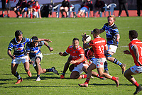 Action from the 2021 Heartland Championship rugby match between Whanganui and Poverty Bay at Cooks Gardens in Whanganui, New Zealand on Saturday, 18 September 2021. Photo: Dave Lintott / lintottphoto.co.nz