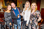 Lucy Murphy, Gary Smith, Ilona Szynsaj and Clare Aherne enjoying the Manor West and Ashe Hotel party in the Grand Hotel on Sunday.